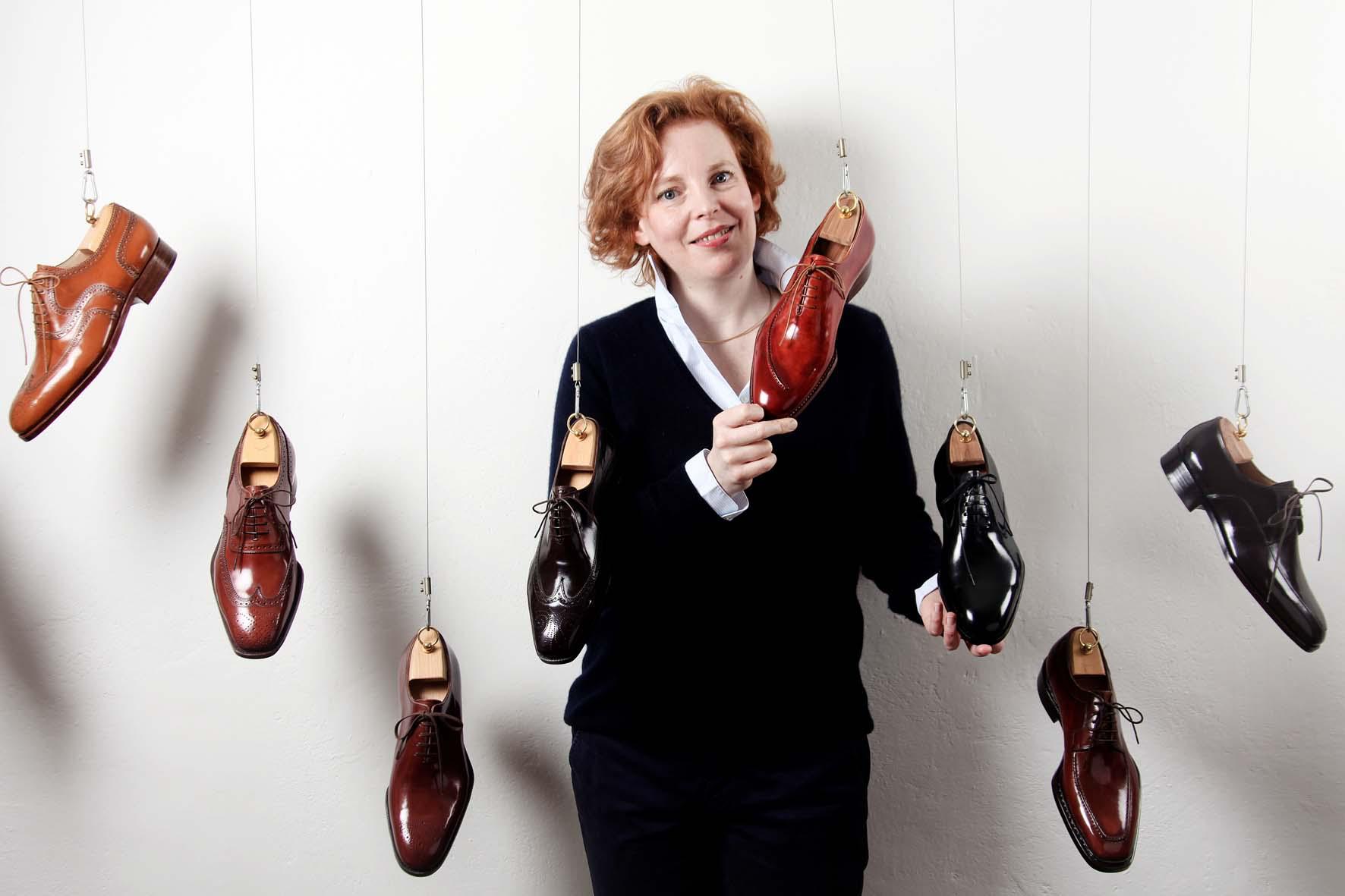 Saskia con scarpe