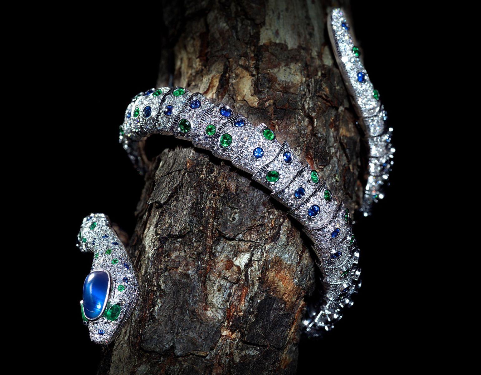 Scavia bracciale serpente