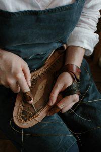 lavorazione scarpa